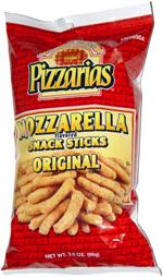 Pizzarias Mozzarella Snack Sticks Original Flavor