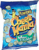 Planters Cheez Mania White Cheddar Puffed Cheese Balls