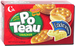 Po Teau Cracker Cheese Flavour