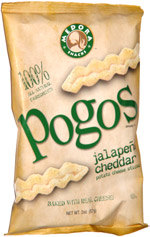 Pogos Jalapeño Cheddar Potato Cheese Sticks