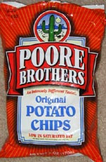 Poore Brothers Original Potato Chips