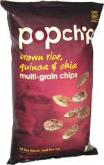 Popchips Brown Rice, Quinoa & Chia