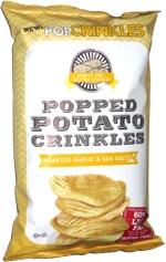 PopCrinkles Roasted Garlic & Sea Salt