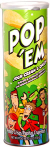 Pop 'em Sour Cream & Onion Potato Crisps