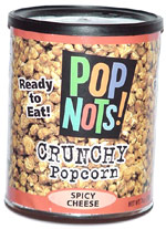 Pop Nots! Spicy Cheese Flavor