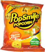 Pop-Smile Popcorn Cheddar Cheese
