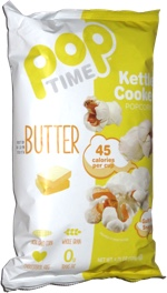 Pop Time Kettle Cooked Popcorn Butter