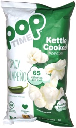 Pop Time Kettle Cooked Popcorn Spicy Jalapeno