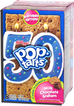 Pop-Tarts Birthday Edition Milk Chocolate Graham