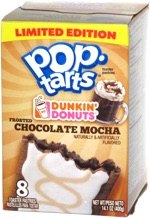 Pop-Tarts Dunkin' Donuts Frosted Chocolate Mocha