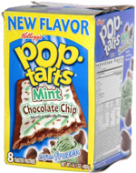 Pop-Tarts Mint Chocolate Chip