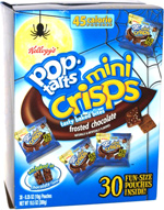 Pop-Tarts Mini Crisps Frosted Chocolate