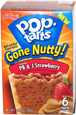 Pop-Tarts Gone Nutty! Frosted PB & J Strawberry
