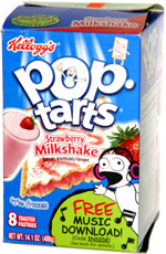Pop-Tarts Strawberry Milkshake