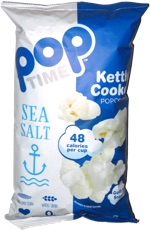 Pop Time Kettle Cooked Popcorn Sea Salt