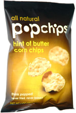 Popchips Hint of Butter Corn Chips