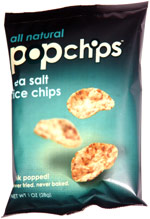 Popchips Sea Salt Rice Chips