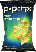 Popchips Ranch Tortilla Chips