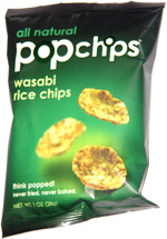 Popchips Wasabi Rice Chips