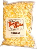 Great American Popcorn Works of Pennsylvania Cheddar Popcorn