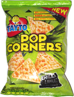 Tayto PopCorners Chili & Lime Popcorn Snacks