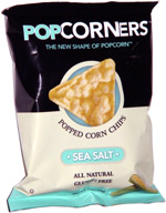PopCorners Popped Corn Chips Sea Salt