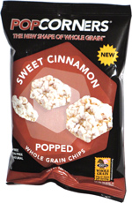 PopCorners Sweet Cinnamon Popped Whole Grain Chips