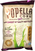Popella Corn Heirloom Tiny Popcorn Sweet n' Salty Kettle
