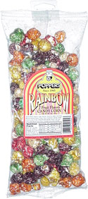 Poppers Rainbow 7 Fruit Flavors Candy Corn