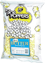 Poppers Real Butter Flavored Popcorn