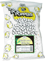 Poppers Lite Natural White Popped Corn