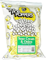 Poppers Sour Cream & Onion Flavored Popcorn