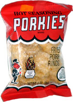 Porkies Hot Seasoning Fried Pork Rinds