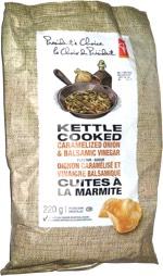 President's Choice Kettle Cooked Caramelized Onion & Balsamic Vinegar Potato Chips