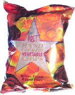 Pret Hand Cooked Vegetable Chips