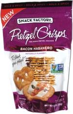 Pretzel Crisps Bacon Habanero