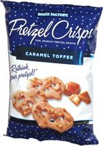 Pretzel Crisps Caramel Toffee