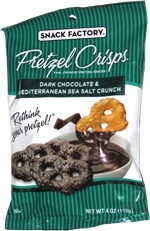 Pretzel Crisps Dark Chocolate & Mediterranean Sea Salt Crunch