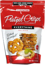 Pretzel Crisps Everything