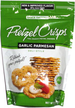 Pretzel Crisps Garlic Parmesan