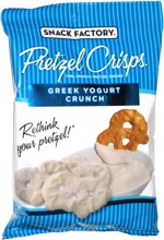 Pretzel Crisps Greek Yogurt Crunch