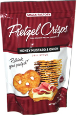 Pretzel Crisps Honey Mustard & Onion