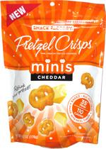 Pretzel Crisps Minis Cheddar