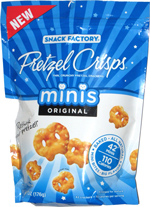 Pretzel Crisps Minis Original