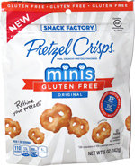 Pretzel Crisps Minis Gluten Free Original