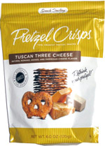 Pretzel Crisps Tuscan Three Cheese