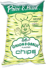 Price E. Hunt Onion & Garlic Flavored Chips