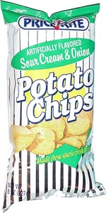 Price Rite Sour Cream & Onion Potato Chips
