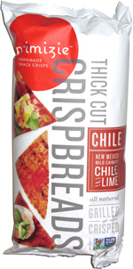 Primizie Crispbreads New Mexico Mild Chimayo Chile and Lime