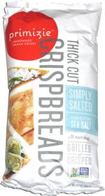 Primizie Crispbreads Simply Salted